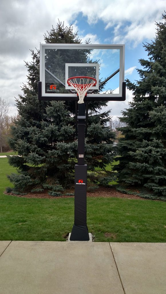 In Ground Basketball Hoop Installations Precision Sports